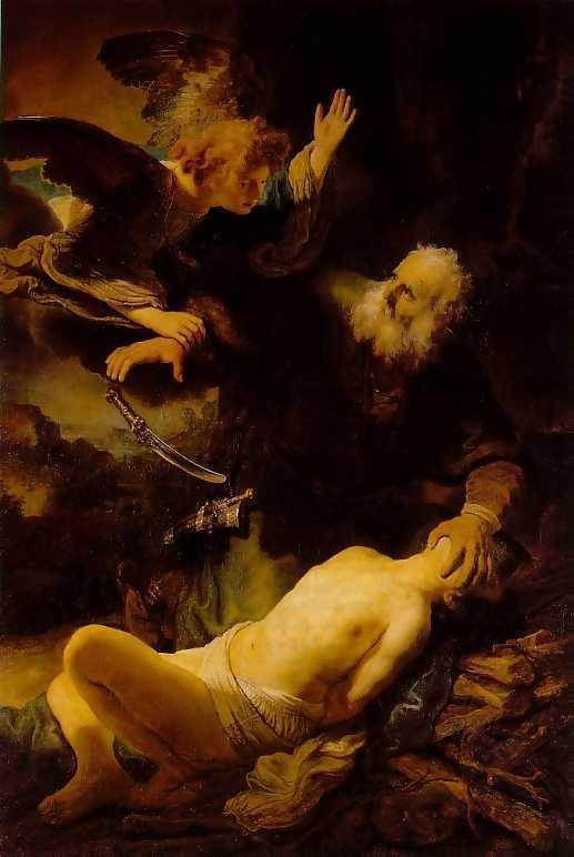 Abraham wìst dat god zijn zoon isaak niet zou opeisen