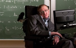 Stephen Hawking in Gocompare.com ad